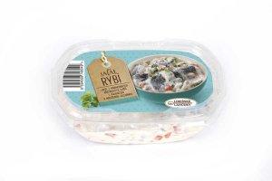 rybí salát, salát se sleděm